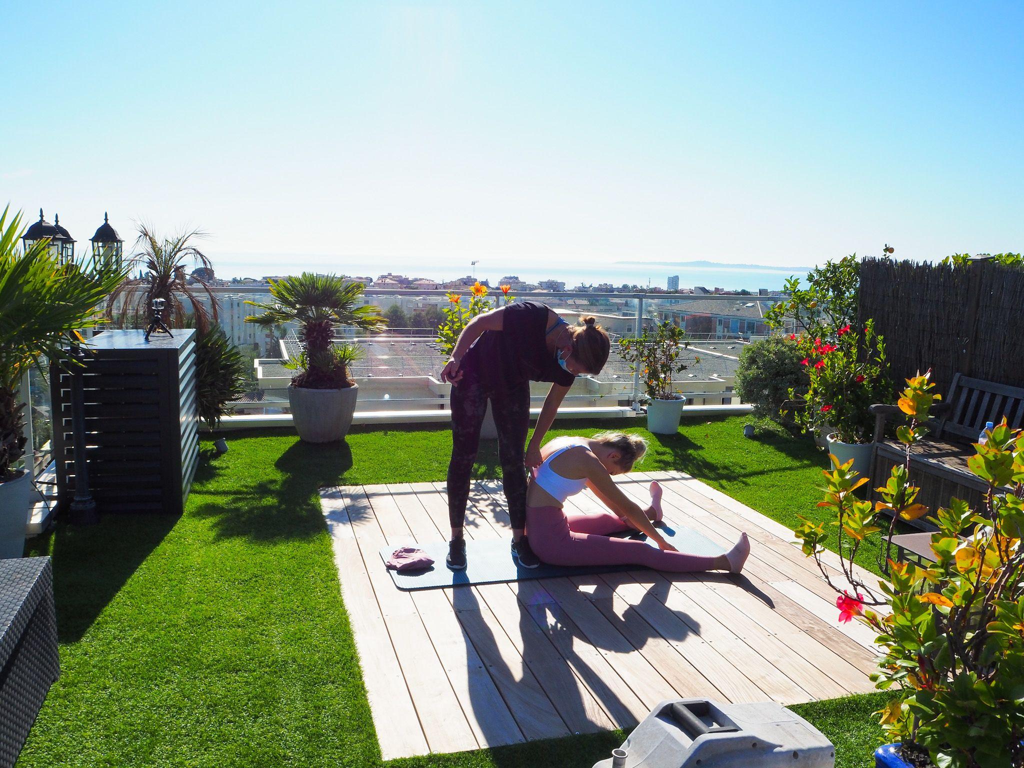 Kelly professeure de Pilates à Nice